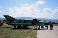 114 @ LBPG - BIAF 09 Bulgaria Plovdiv (Krumovo) LBPG Graf Ignatievo Military Air Base - (SAU referring to Sistema Avtomaticheskovo Upravleniya = Automatic Control System - by Attila Groszvald-Groszi