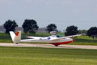 N101AZ @ DVN - Quad Cities Air Show, take-off roll