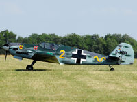 D-MDIY @ LOAS - Replik of the famous Messerschmitt 109 at 80 Jahre Spitzerberg - by P. Radosta - www.austrianwings.info
