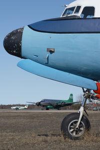 C-FBAM @ CYHY - Buffalo Airways DC4