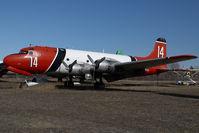 C-GBAJ @ CYHY - Buffalo Airways DC4