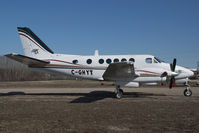 C-GHYT @ CYHY - Beech 100 King Air - by Yakfreak - VAP