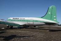C-GPSH @ CYHY - Buffalo Airways DC4