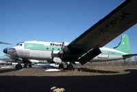 C-GPSH @ CYHY - Buffalo Airways DC4 - by Yakfreak - VAP