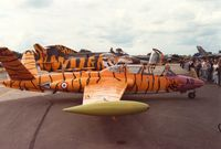 572 @ EGVA - CM-170R Magister of GI.312 at the Tiger Meet of the 1991 Intnl Air Tatto at RAF Fairford. - by Peter Nicholson