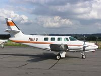 N11FV @ EGBN - Cessna Crusader - by Simon Palmer