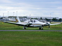 N440GC @ EGBE - Lucon Chasnais Flying Inc - by Chris Hall