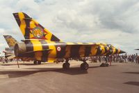 16 @ EGVA - Mirage F.1C of EC.1/12 at the Tiger Meet of the 1991 Intnl Air Tattoo at RAF Fairford. - by Peter Nicholson