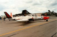 544 @ EGVA - French Air Force CM-170R Magister of GI.312 at the 1991 Intnl Air Tattoo at RAF Fairford. - by Peter Nicholson