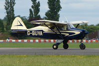 G-BUVA @ EGSX - at North Weald on 2009 Air Britain Fly-in Day 1