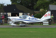 G-SPAT @ EGSX - Aero AT-3 at North Weald on 2009 Air Britain Fly-in Day 1