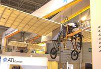 F-AZBA @ LFPB - Bleriot XI replica of the Salis-Collection at the Aerosalon Paris/Le-Bourget 2009 - by Ingo Warnecke