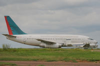 XA-TRW @ KLRD - retired B737-200 at KLRD