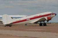 XA-KTB @ KLRD - DC-3 at KLRD