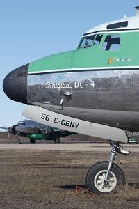 C-GBNV @ CYHY - Buffalo Airways DC4