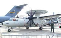 163849 @ LFPB - Grumman E-2C Hawkeye 2000 of US Navy at the Aerosalon Paris/Le-Bourget 2009 - by Ingo Warnecke