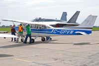 C-GPVW @ CYZD - 1976 Cessna 172M at Wheels and Wings  Festival 2009 - by Alexandre Brevdo