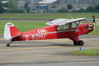 G-BZHU @ EGBJ - Aircraft owned by the Teddy Boys Flying Group