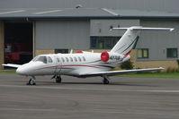 N27UB @ EGBJ - Cessna 525B based at Staverton