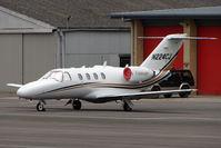 N224CJ @ EGBJ - Based Cessna 525 at Staverton