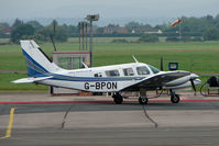G-BPON @ EGBJ - Piper PA-34-200T at Staverton