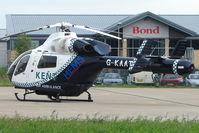 G-KAAT @ EGBJ - Kent Air Ambulance at Staverton