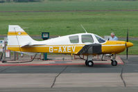 G-AXEV @ EGBJ - Beagle B121 at Staverton - by Terry Fletcher