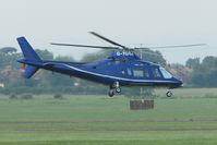 G-TGRA @ EGBJ - Agusta 109A at Staverton