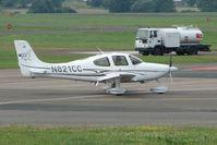 N821CC @ EGBJ - Cirrus SR22 at Staverton