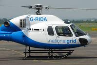 G-RIDA @ EGBJ - AS355NP at Staverton