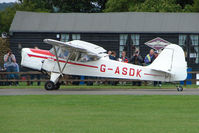G-ASDK @ EGSX - Beagle A.61 at North Weald on 2009 Air Britain Fly-in Day 1