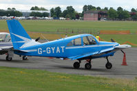 G-GYAT @ EGSX - Gardan GY80-180 at North Weald on 2009 Air Britain Fly-in Day 1