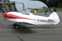 G-BGHY @ EGSX - Homebuilt at North Weald on 2009 Air Britain Fly-in Day 1