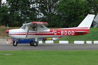 G-BDOD @ EGSX - Cessna 150M at North Weald on 2009 Air Britain Fly-in Day 1