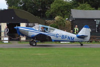 G-BFNM @ EGSX - 1946 Globe Swift at North Weald on 2009 Air Britain Fly-in Day 1