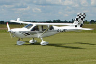 G-LUBY @ EGNW - Jabiru 430 at Wickenby on 2009 Wings and Wheel Show