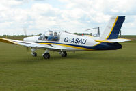 G-ASAU @ EGNW - Rallye 880B at Wickenby on 2009 Wings and Wheel Show