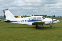 G-BBTJ @ EGNW - Piper PA-23-250 at Wickenby on 2009 Wings and Wheel Show - by Terry Fletcher