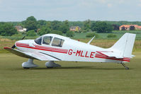 G-MLLE @ EGNW - Robin DR220 at Wickenby on 2009 Wings and Wheel Show