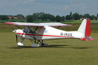 G-IKUS @ EGNW - Ikarus C42 at Wickenby on 2009 Wings and Wheel Show