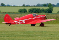 G-APIE @ EGNW - Tipsy Belfair at Wickenby on 2009 Wings and Wheel Show