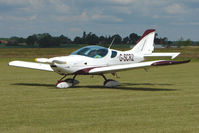 G-SCRZ @ EGNW - at Wickenby on 2009 Wings and Wheel Show