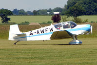 G-AWFW @ EGNW - Jodel D117 at Wickenby on 2009 Wings and Wheel Show
