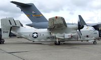 162142 @ LFPB - Grumman C-2A Greyhound (upgraded with NP2000 Propellers) of US Navy at the Aerosalon Paris/Le-Bourget 2009