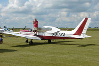 G-ATZS @ EGNW - Wassmer WA41 at Wickenby on 2009 Wings and Wheel Show