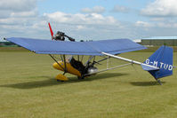 G-MTUD @ EGNW - Thruster Microlight at Wickenby on 2009 Wings and Wheel Show