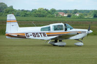 G-BSTR @ EGNW - Grumman AA-5 at Wickenby on 2009 Wings and Wheel Show