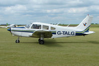 G-TALG @ EGNW - Piper warrior from Tatenhill at Wickenby on 2009 Wings and Wheel Show