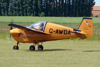 G-AWDA @ EGNW - Nipper T.66 at Wickenby on 2009 Wings and Wheel Show