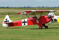 G-ATCN @ EGNW - Luton LA4A Minor at Wickenby on 2009 Wings and Wheel Show
